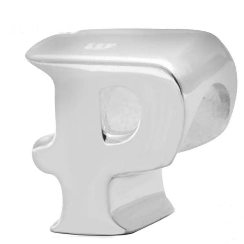 Charm  U0026quot Letra P U0026quot  Plata De Primera Ley  Compatible Pandora